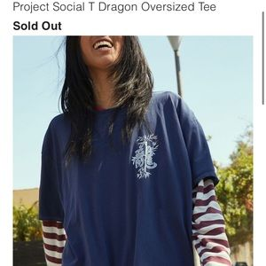 UO NWT || Project social dragon graphic tee
